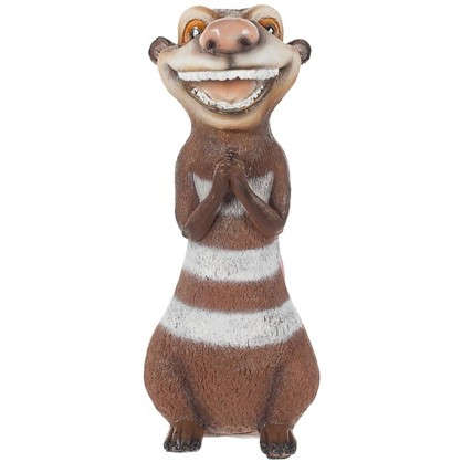 Садовая фигура Опоссум улыбается высота 30 см