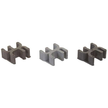 Фиксатор для арматуры Табурет 25х12 мм пластмасса 20 шт.