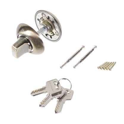 Купить Фиксатор-ключ Palladium 10х40 мм цвет античная бронза дешевле