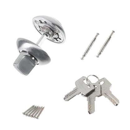 Купить Фиксатор-ключ Palladium 10х40 мм цвет матовый хром дешевле