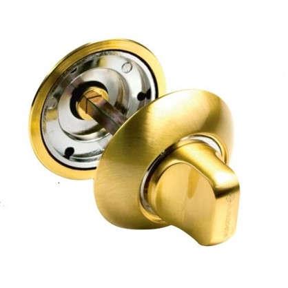 Фиксатор-вертушка для дверей 003 SG ЦАМ цвет матовое золото