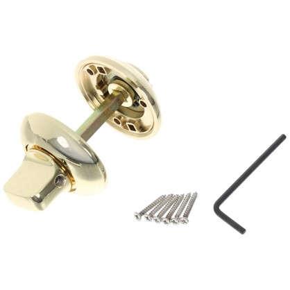 Фиксатор-вертушка для дверей Apecs Premier WC-0503-G ЦАМ цвет золото
