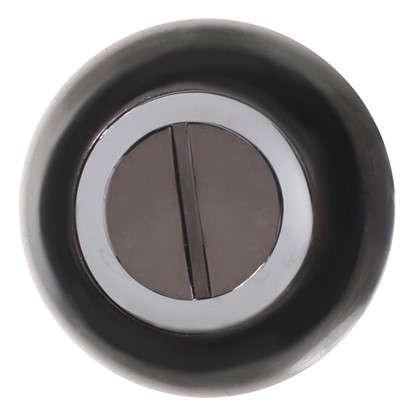 Фиксатор-вертушка для дверей цвет графит