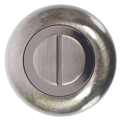 Фиксатор-вертушка для дверей Inspire круглый цвет бронзовый