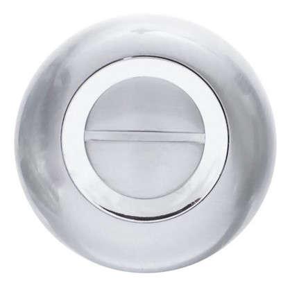 Фиксатор-вертушка для дверей Inspire круглый цвет хром