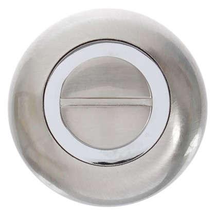 Фиксатор-вертушка для дверей Inspire круглый цвет никель цена