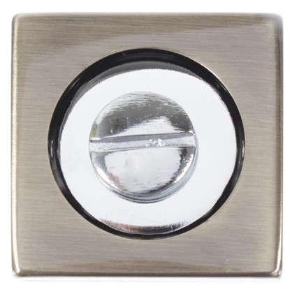 Фиксатор-вертушка для дверей Inspire квадратный цвет бронзовый