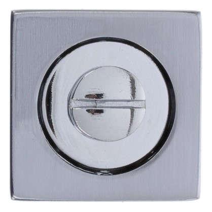 Купить Фиксатор-вертушка для дверей Inspire квадратный цвет хром дешевле