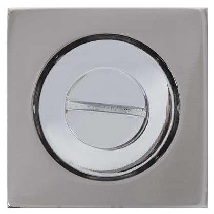 Фиксатор-вертушка для дверей Inspire квадратный цвет никель