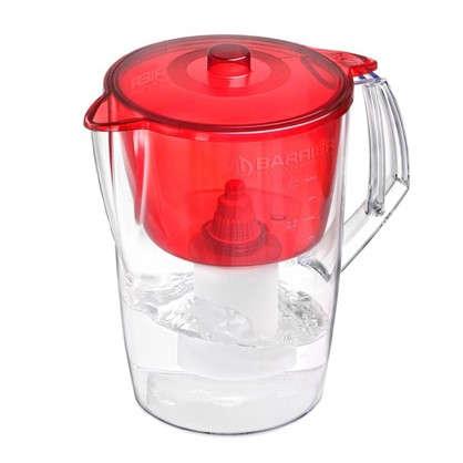 Купить Фильтр-кувшин для очистки воды Барьер Лайт 3.6 л цвет красный дешевле