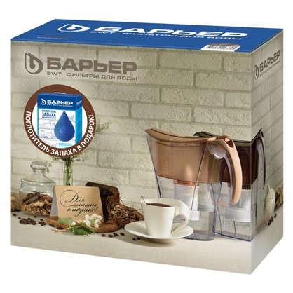 Купить Фильтр-кувшин для очистки воды Барьер Смарт 3.3 л цвет коричневый дешевле