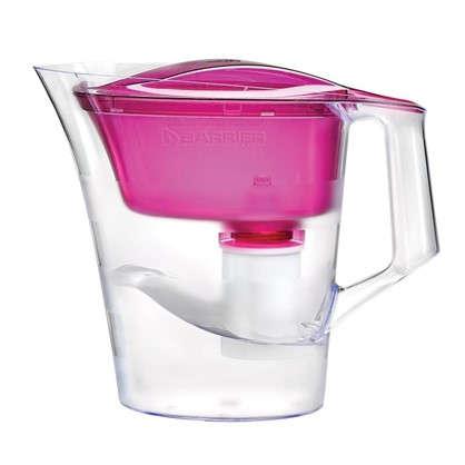 Фильтр-кувшин для очистки воды Барьер Твист 4 л цвет пурпурный