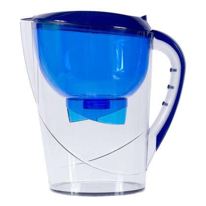 Купить Фильтр-кувшин Гейзер Корус 3.7 л цвет синий дешевле