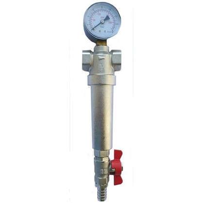 Купить Фильтр механической очистки Euros для горячей и холодной воды 1 дюйм 300 мкм дешевле