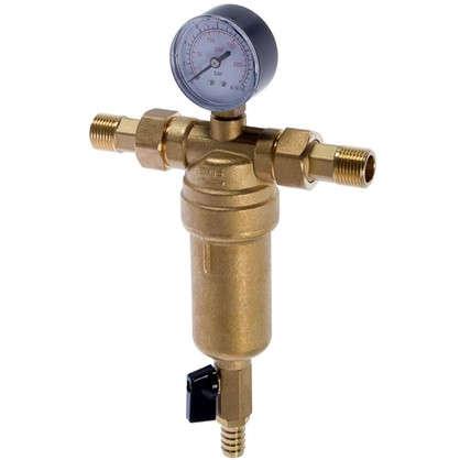 Купить Фильтр механической очистки Euros для горячей воды 100 мкм дешевле