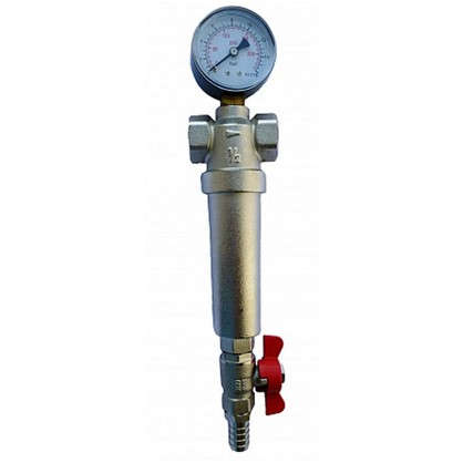 Купить Фильтр механической очистки Euros для холодной и горячей воды 3/4 дюйма 300 мкм дешевле