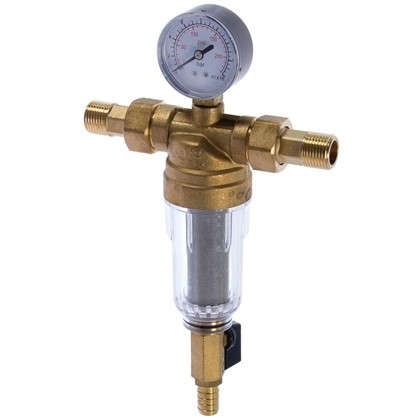 Фильтр механической очистки Euros для холодной воды 100 мкм