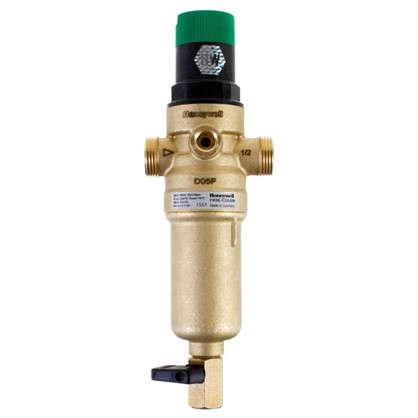 Купить Фильтр механической очистки Honeywell для горячей воды с клапаном пониженного давления 1/2 дюйма 100 мкм дешевле