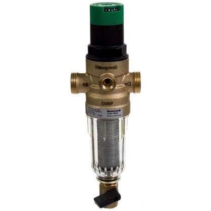 Купить Фильтр механической очистки Honeywell для холодного водоснабжения с клапаном пониженного давления 100 мкм 1/2 дюйма дешевле