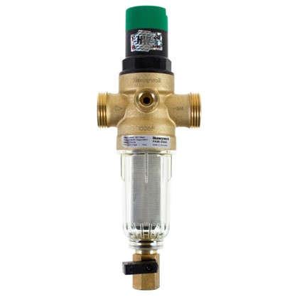 Фильтр механической очистки Honeywell для холодного водоснабжения с клапаном пониженного давления 100 мкм 3/4 дюйма