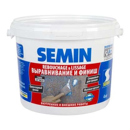 Купить Финишпаста полимерная Semin Rebouchage & Lissage 4 кг дешевле