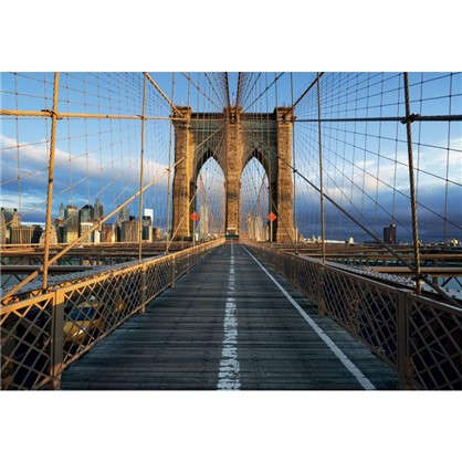 Фотообои бумажные Бруклинский мост 368х254 см