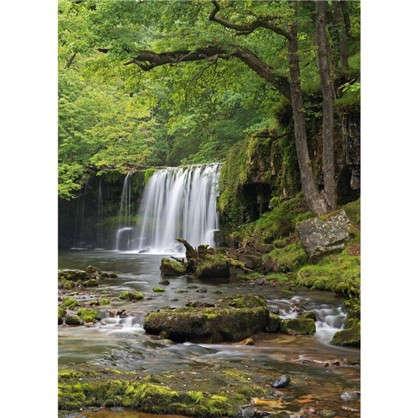 Фотообои бумажные Снежный водопад 184х254 см