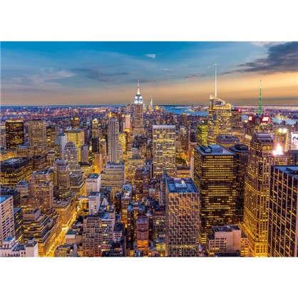 Фотообои бумажные Закат в Манхэттене 254х184 см