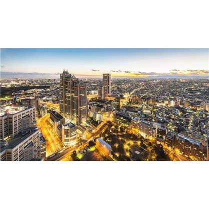 Фотообои флизелиновые Город панорама 370х200 см