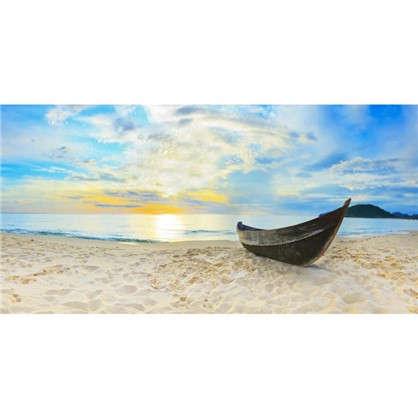 Купить Фотообои флизелиновые Лодка 200х100 см дешевле