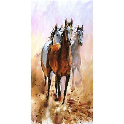 Купить Фотообои флизелиновые Лошади 100х200 см дешевле