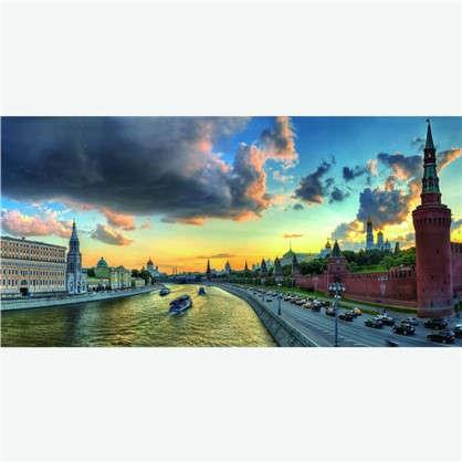 Фотообои флизелиновые Москва 100х200 cм