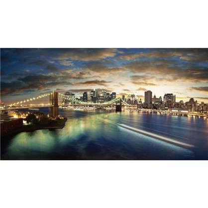 Фотообои флизелиновые Мост 370х200 см