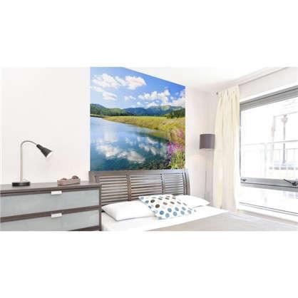 Фотообои флизелиновые Озеро 200х200 см