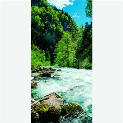 Фотообои флизелиновые Река 100х200 cм