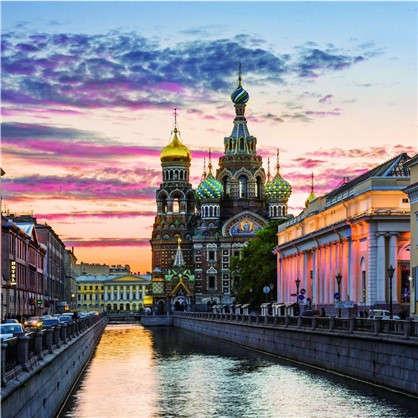 Купить Фотообои флизелиновые Санкт-Петербург 200х200 cм дешевле
