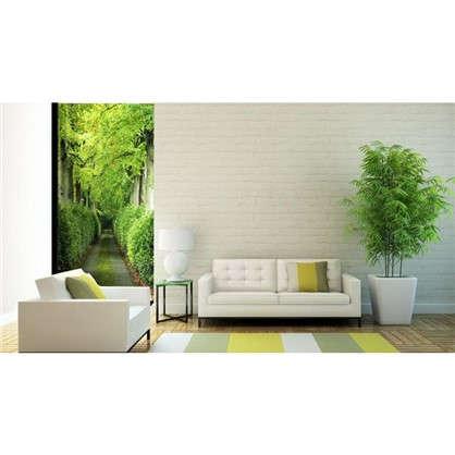 Фотообои флизелиновые Зеленая аллея 100х200 см