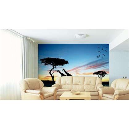 Фотообои флизелиновые Жирафы 370х270 см