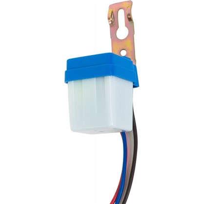 Фотореле 6A 100 Вт цвет белый IP44