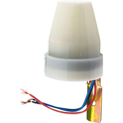 Фотореле Duwi FR-02 10 A 2200 Вт цвет белый IP44