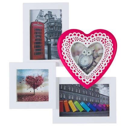 Купить Фотосет на 4 фотографии Кружевное сердце 8052 дешевле