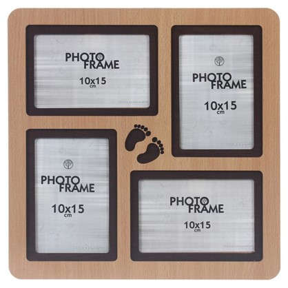 Фотосет Отпечатки 4 фото размер фото 10х15 см цвет бук