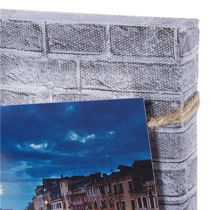 Фотосет Серый кирпич с прищепками 30х40 см