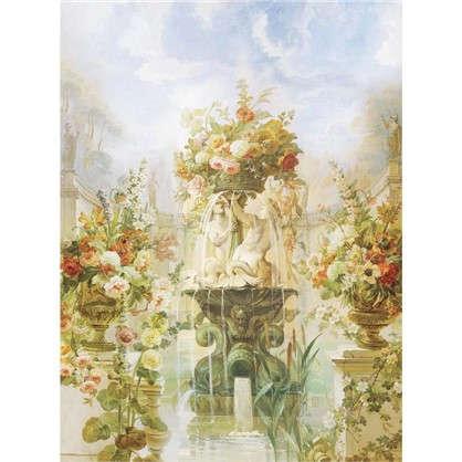 Фреска флизелиновая Цветочный фонтан 200х270 см