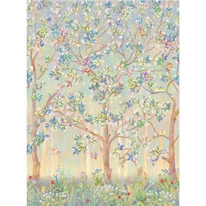 Купить Фреска флизелиновая Дерево с птицами 200х270 см дешевле