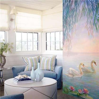 Фреска флизелиновая Лебеди 100х270 см