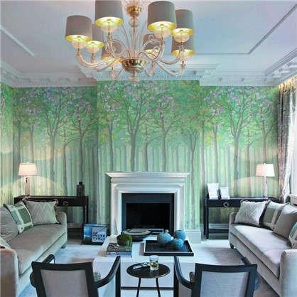 Фреска флизелиновая Летний лес 200х270 см