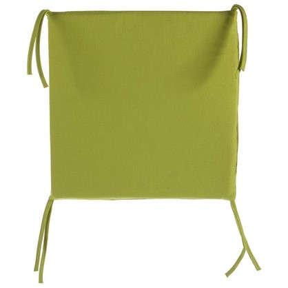 Купить Галета для стула 35х35х2 см цвет горчичный дешевле