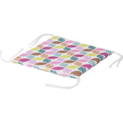 Купить Галета для стула Геометрия 35х35 см цвет мультиколор дешевле