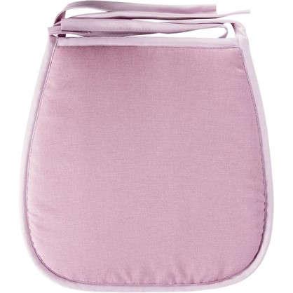 Купить Галета для стула Савана 40x40 см цвет розовый дешевле